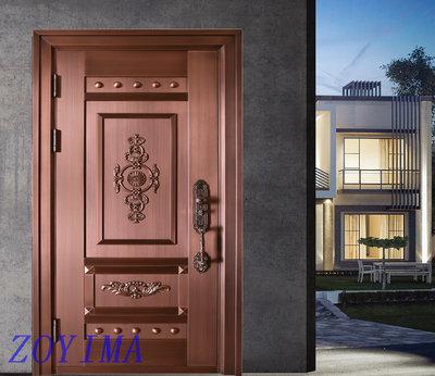 Z0YIMA/ G & K Great Door Pure Copper Door FD-T17