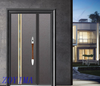 Z0YIMA/ G & K Great Door -Iron Metal Seucrity Door Black Color ZYM-M2062