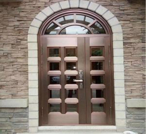 Comparison of the advantages of bronze doors and other doors