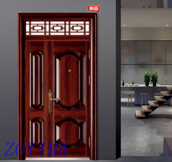 Z0YIMA/ G & K Great Door-Security Steel Door FD-M687 Afghanistan Market