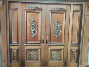 The difference between copper doors