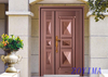 Z0YIMA/ G & K Great Door - Competitive Price Entry Door like Pure Copper Door ZYM-T7022