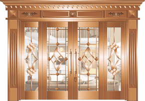 How to maintain copper doors?