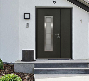 How about the steel entrance door? Is it suitable for long-term use?