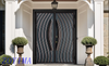 Z0YIMA/ G & K Great Door -Lxury Cast Aluminum Bullet-proof iron Security Door ZYM-Z9802