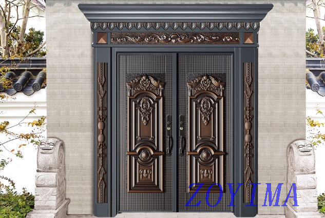 Z0YIMA/ G & K Great Door -Lxury Cast Aluminum Doors GK-8007