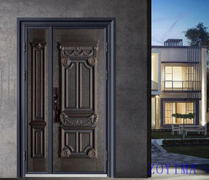 Z0YIMA/ G & K Great Door -Nigeria Luxry Competitive Glavanized 1.2MM 4feet Door ZYM-N9111