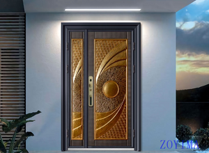 Z0YIMA/ G & K Great Door -Nigeria Luxry Competitive Glavanized Exterior Door ZYM-N8062