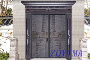 Z0YIMA/ G & K Great Door -Lxury Cast Aluminum Doors GK-8005