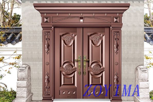 Z0YIMA/ G & K Great Door - Exterior Security Entry Front Doors ZYM-P5-3009