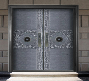 The diversified design of the aluminum art door industry has significant advantages