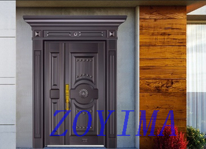 Z0YIMA/ G & K Great Door - Competitive Price Entry Door With Pure Copper Fitting Adjoint Door ZYM-T7023